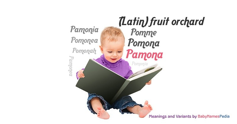 Meaning of the name Pamona