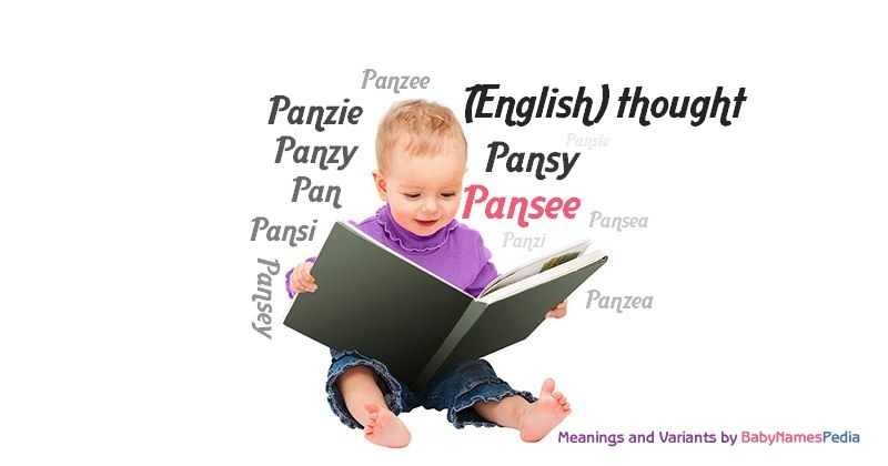 Meaning of the name Pansee