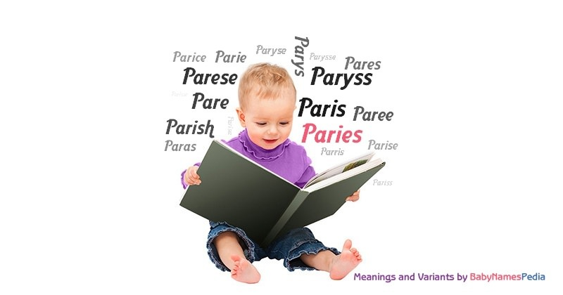 Meaning of the name Paries