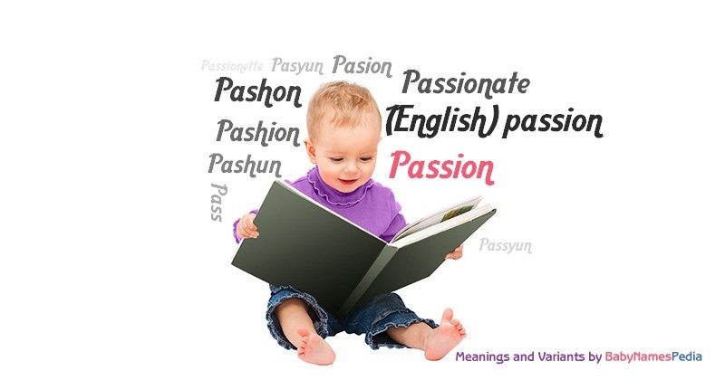 Meaning of the name Passion