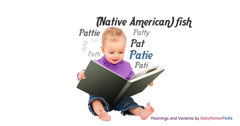 Meaning of the name Patie