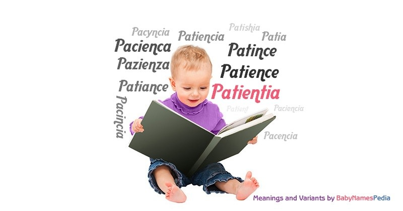 Meaning of the name Patientia