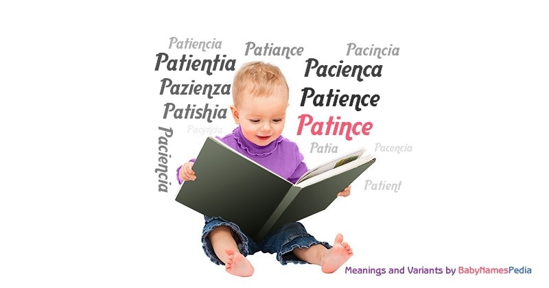 Meaning of the name Patince