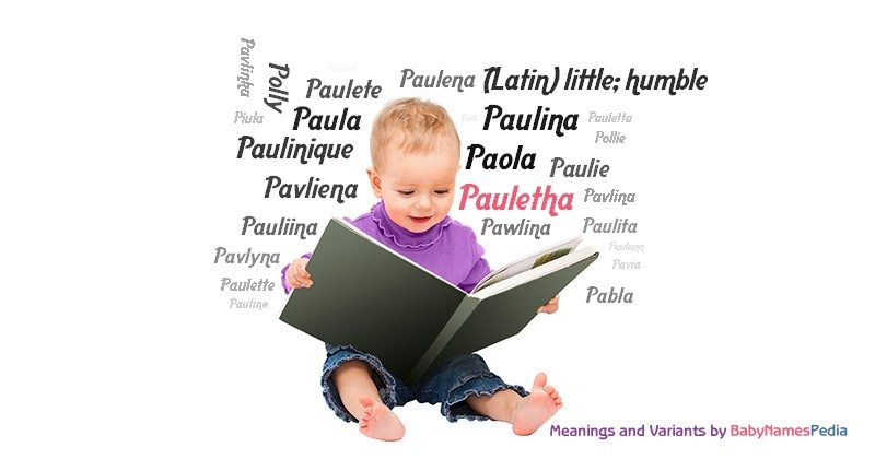 Meaning of the name Pauletha