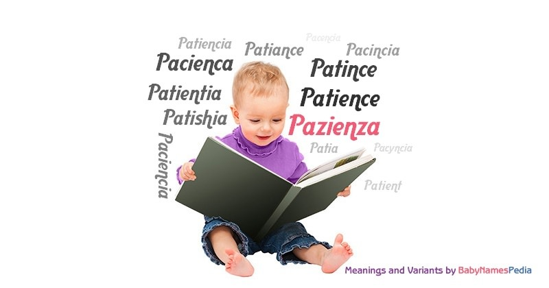 Meaning of the name Pazienza