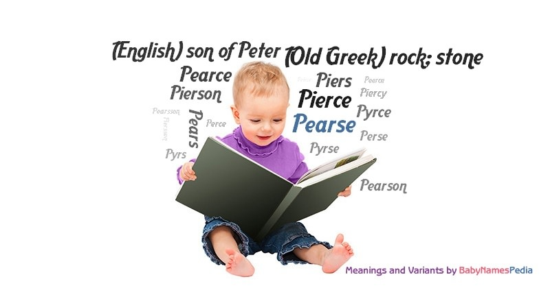 Meaning of the name Pearse