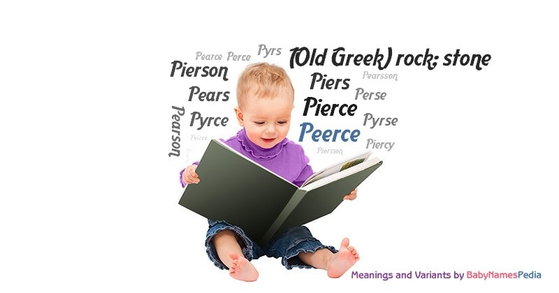 Meaning of the name Peerce