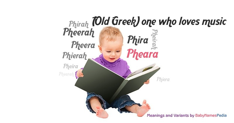 Meaning of the name Pheara