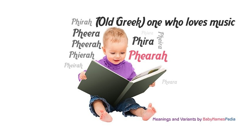 Meaning of the name Phearah