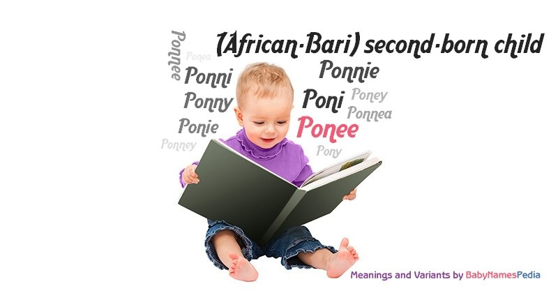 Meaning of the name Ponee