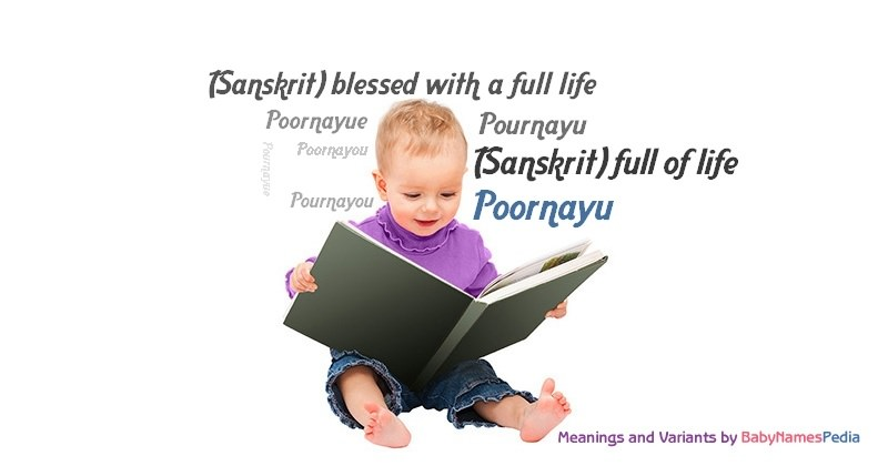 Meaning of the name Poornayu