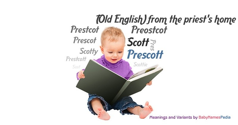 Meaning of the name Prescott