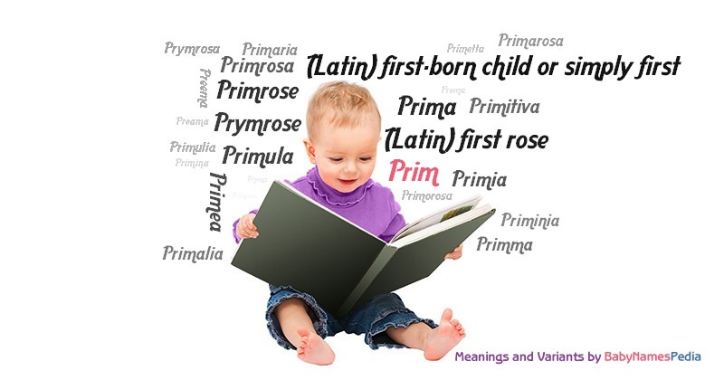 Meaning of the name Prim