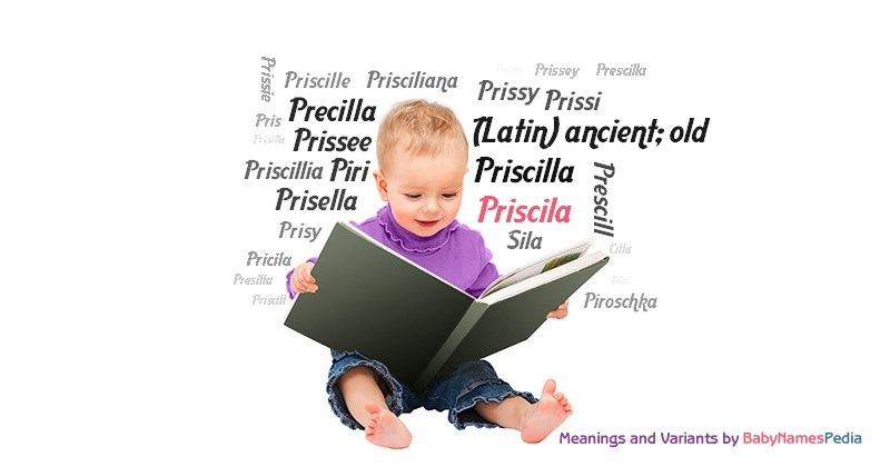 Meaning of the name Priscila