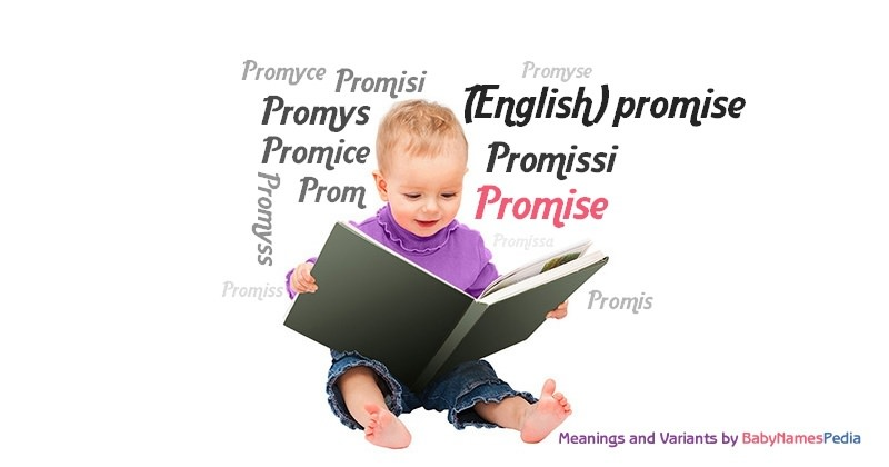 Meaning of the name Promise