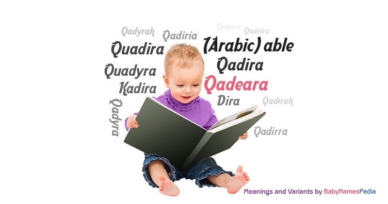 Meaning of the name Qadeara