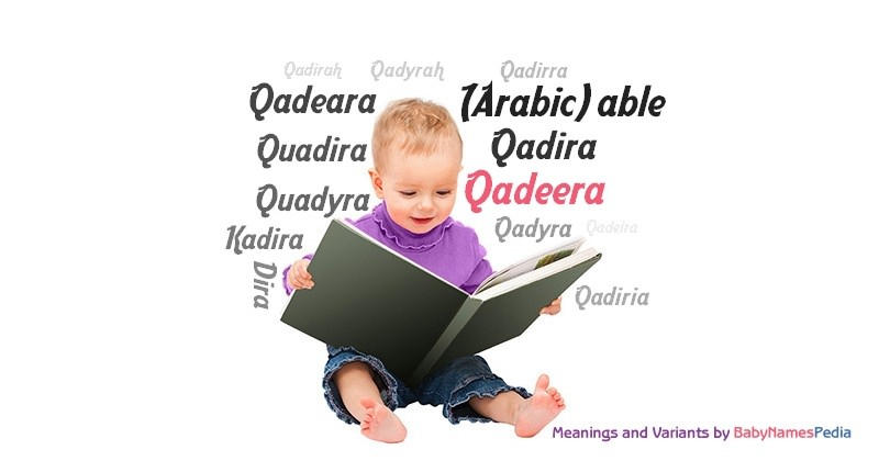 Meaning of the name Qadeera