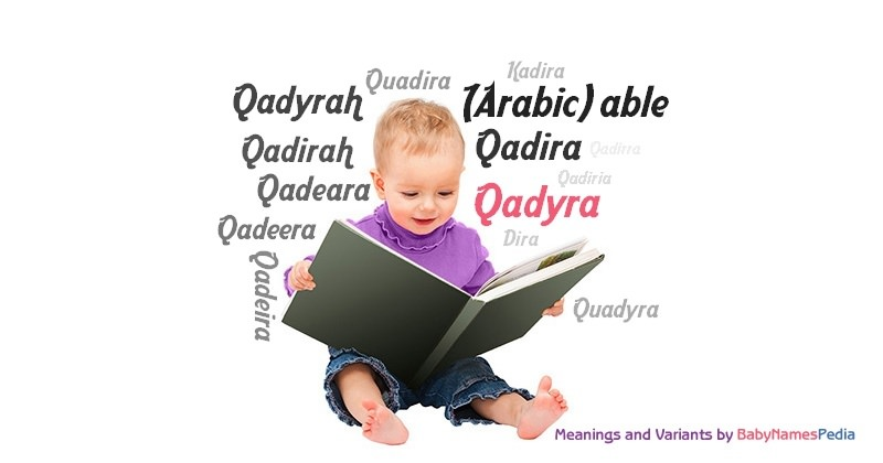 Meaning of the name Qadyra