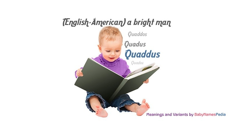 Meaning of the name Quaddus
