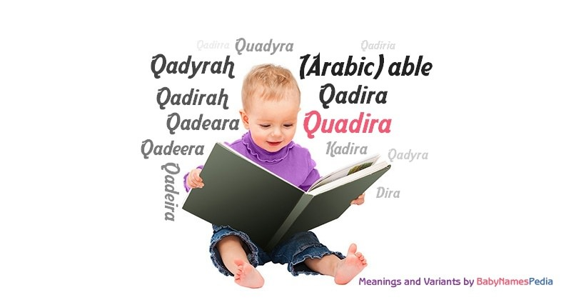 Meaning of the name Quadira