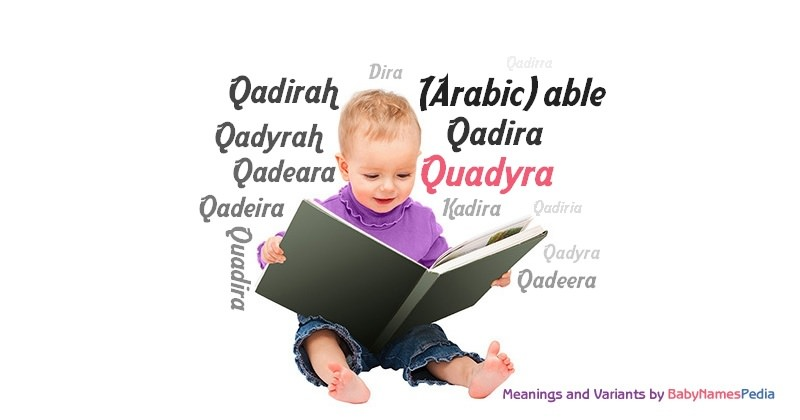 Meaning of the name Quadyra