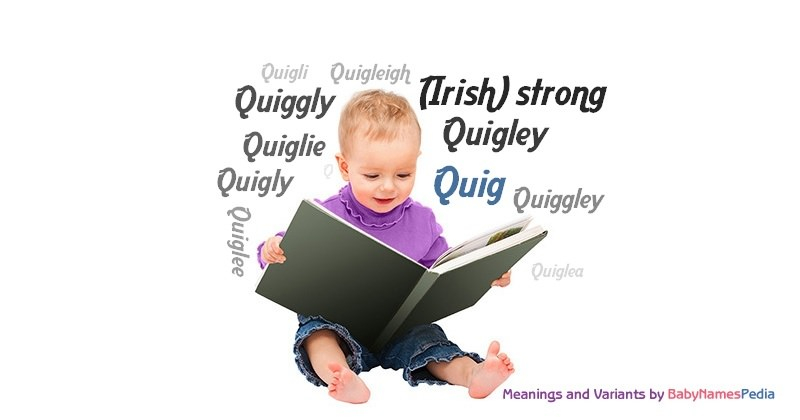 Meaning of the name Quig