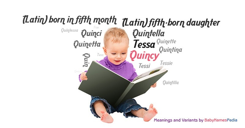 Quincy - Meaning of Quincy, What does Quincy mean? girl name