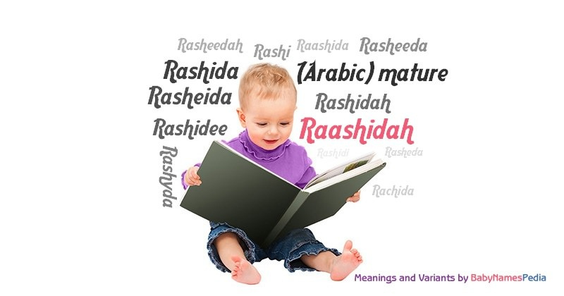 Meaning of the name Raashidah