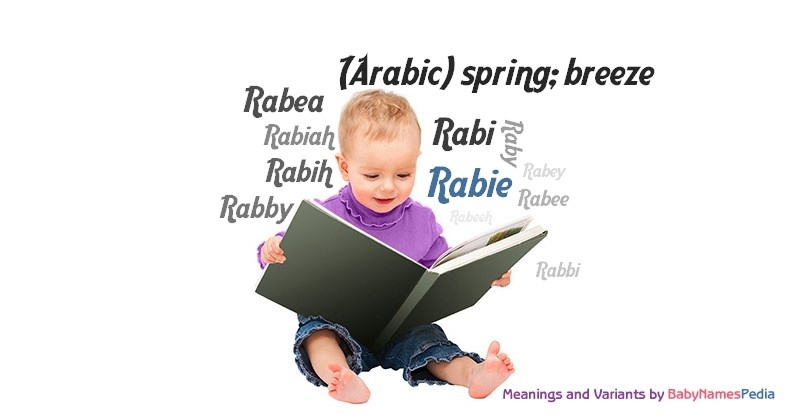 Meaning of the name Rabie