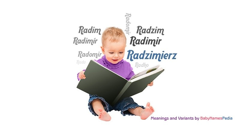 Meaning of the name Radzimierz