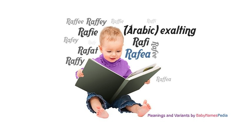 Meaning of the name Rafea
