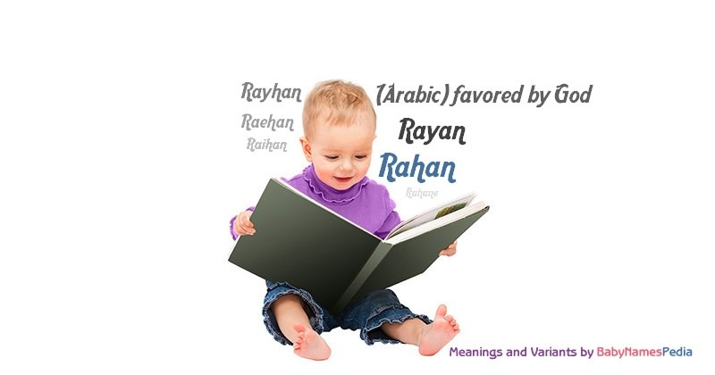 Meaning of the name Rahan