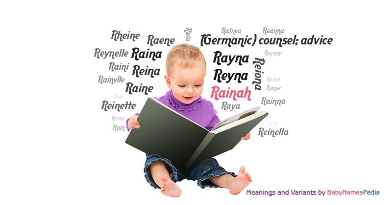 Meaning of the name Rainah