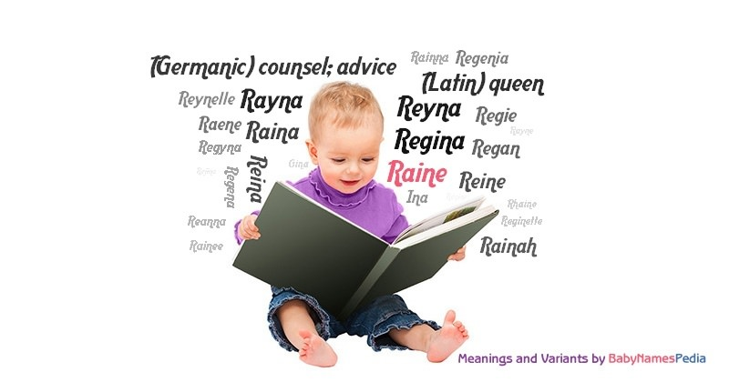 Meaning of the name Raine