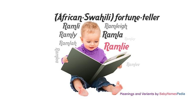 Ramlie - Meaning of Ramlie, What does Ramlie mean?