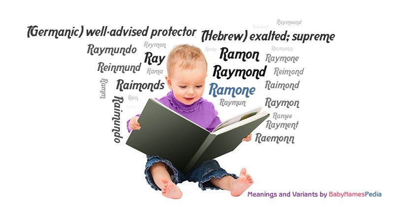 Meaning of the name Ramone
