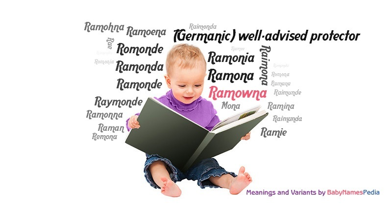 Meaning of the name Ramowna