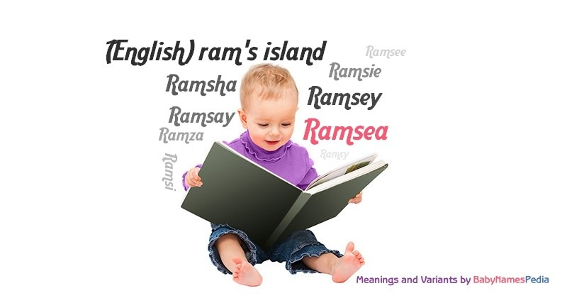 Meaning of the name Ramsea