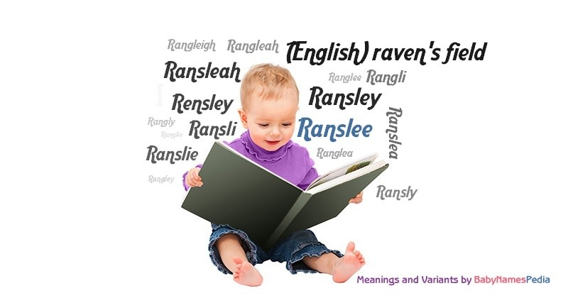 Meaning of the name Ranslee
