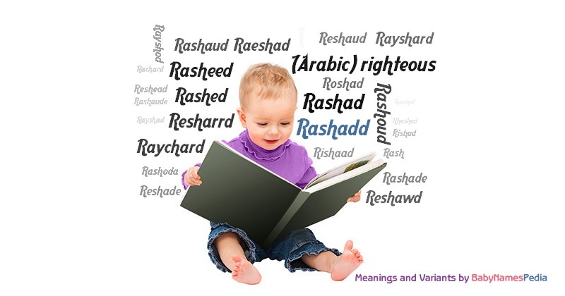 Meaning of the name Rashadd