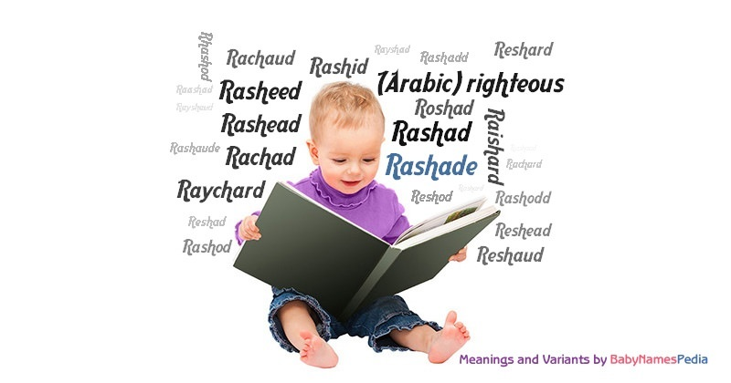 Meaning of the name Rashade