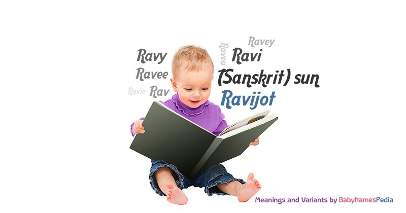 Meaning of the name Ravijot
