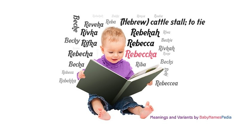 Meaning of the name Rebeccka