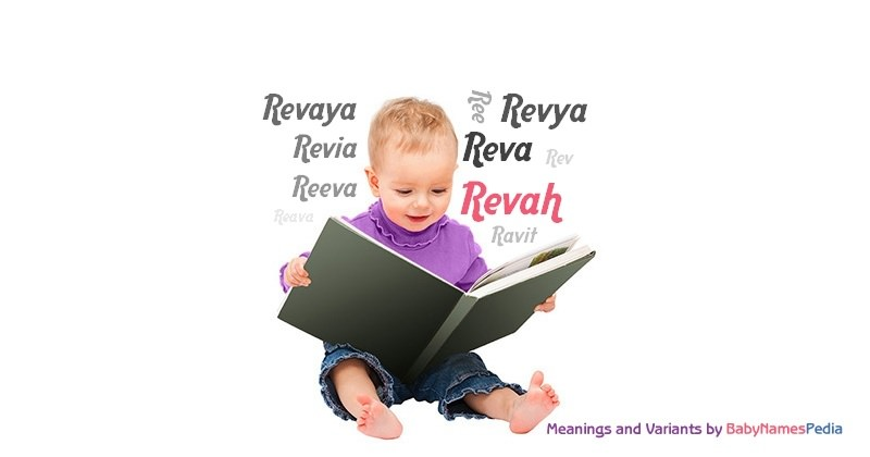 Meaning of the name Revah