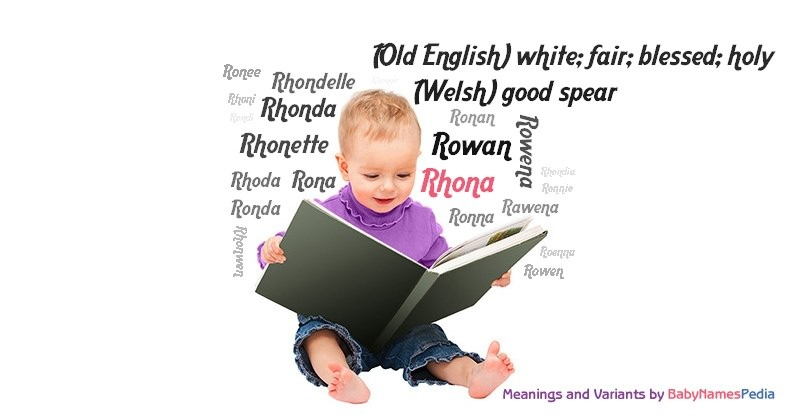 Meaning of the name Rhona