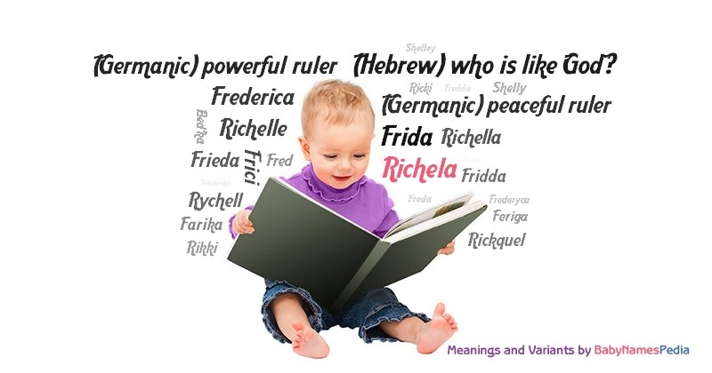 Meaning of the name Richela