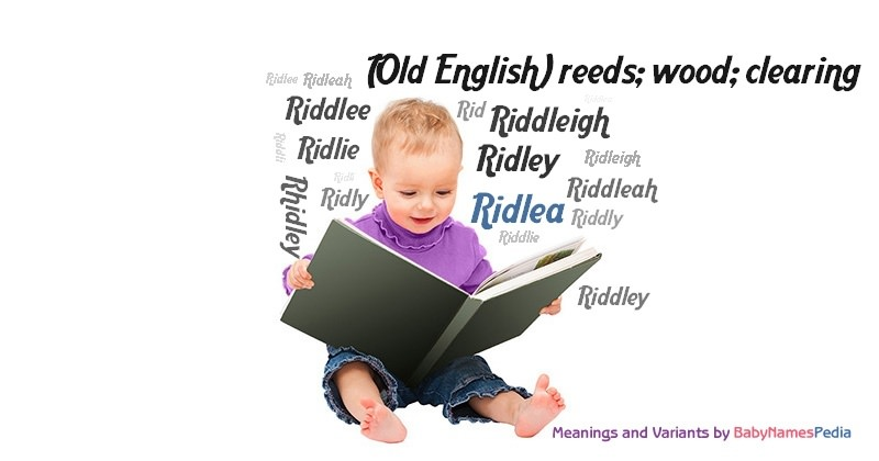 Meaning of the name Ridlea