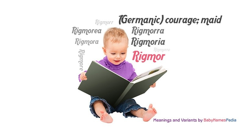 Meaning of the name Rigmor