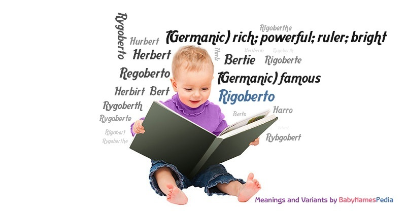 Meaning of the name Rigoberto