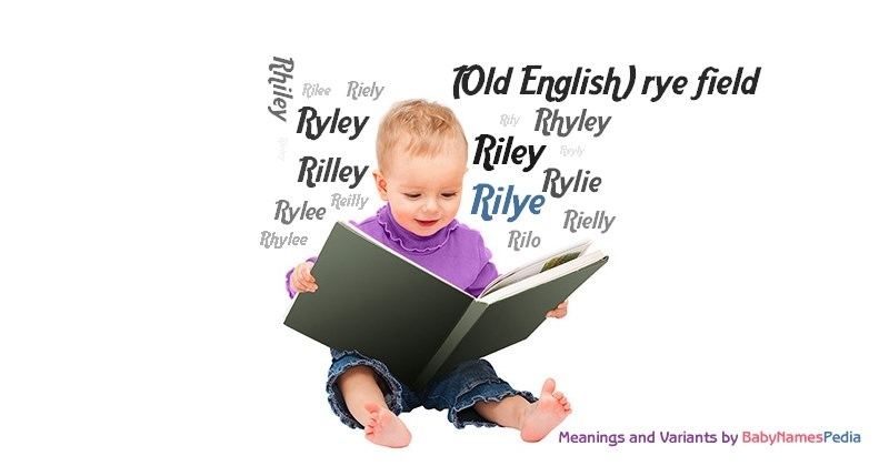 Meaning of the name Rilye